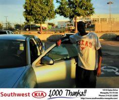 https://flic.kr/p/PiAgQg | #HappyBirthday to  from Kaleb Cloyd at Southwest Kia Mesquite! | deliverymaxx.com/DealerReviews.aspx?DealerCode=VNDX