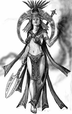 Anancaona, Taino Warrior Princess <3
