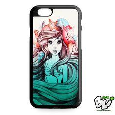 Ariel Little Mermaid iPhone 6 Case   iPhone 6S Case