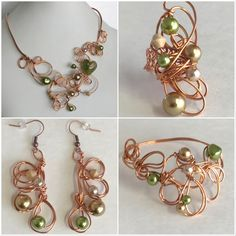 Murano's hearth set. Opera Arias, Belle Boutique, Simple Photo, Big Rings, Copper Wire, Hearth, Jewelry Sets, Fancy, Jewellery
