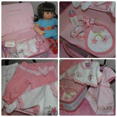 Bitty Baby Layette from #AmericanGirl.  Great gift idea this #Christmas