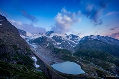 The night is arriving - TomFear Mount Everest, Mountains, Stars, Night, Nature, Travel, Image, Naturaleza, Viajes