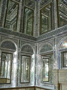 Narajestan Museum, Shiraz, Iran   Built in 1881, this magnificent building located in a beautiful citrus garden which dates back to the Qajar period. It was restored in 1967. This museum contains some of the objects relevant to 3000 years ago and also it's photographic and slide archives on ancient monuments of Iran is considered to be one of the best in the country.