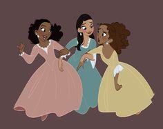 The Schuyler sisters Sisters Tumblr, Sisters Art, Hamilton Broadway, Hamilton Musical, Hamilton Schuyler Sisters, Sister Wallpaper, Pippa Soo, Hamilton Lin Manuel Miranda, Hamilton Peggy