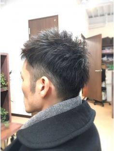 さっぱり2ブロックネープレス♪アップバングのモテヘア(^^♪ Short Hair Styles, Men's Fashion, Hairstyles, Cutting Hair, Haircuts, Bob Styles, Moda Masculina, Mens Fashion, Hairdos