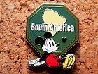 Mickey South America Disney Pin - Hidden Mickey Series - Continent Collection #EasyNip
