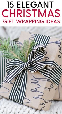 15 Elegant Christmas Gift Wrapping Ideas to Charm Family and Friends 15 Elegant,. 15 Elegant Christmas Gift Wrapping Ideas to Charm Family and Friends 15 Elegant, creative and uniqu Christmas Decorations Diy For Kids, Creative Christmas Cards, Simple Christmas Cards, Christmas Gift Baskets, Christmas Gifts For Friends, Unique Christmas Gifts, Elegant Christmas, Christmas Gift Wrapping, Christmas Photo Cards