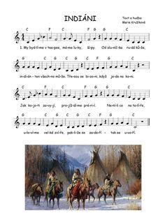 Sheet Music Art, Kids Songs, Music Notes, Native American, Kindergarten, Preschool, Cowboys, Teaching, Education