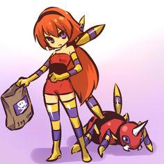Pokémon - 168 Ariados art by hitec (Sankaku Channel)