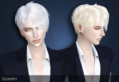 Male Hair _ Short Hairstyle Fashion The Sims 4 _ - Clove share Asia Sims 3, Sims 4 Cas, Sims 4 Hair Male, Sims 2 Hair, Male Hair, Sims 4 Anime, The Sims 4 Cabelos, Pelo Sims, Sims 4 Gameplay