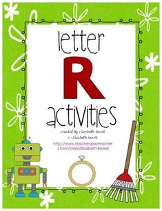 Letter R Activities for Preschool and Kindergarten