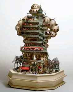 TIny worlds. Stunning Model buildings of Takanori Aiba