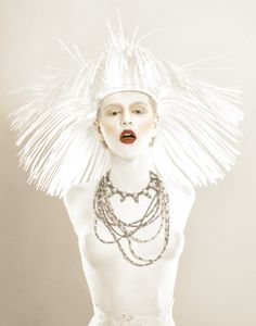 Photographer: Alf Caruana Stylist/Headpiece: Joel and Taryn Gionis Makeup/Body Painter: Lizzie Sharp Model: Sally Ersch