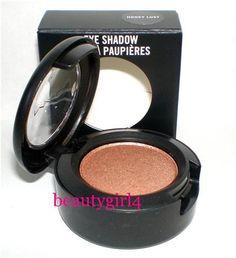 MAC eyeshadow in Honey Lust. so pretty
