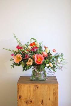 Wild Flower Arrangements, Vase Arrangements, Flower Vases, Wedding Centerpieces, Wedding Bouquets, Wedding Flowers, Wildflower Centerpieces, Purple Bouquets, Tall Centerpiece