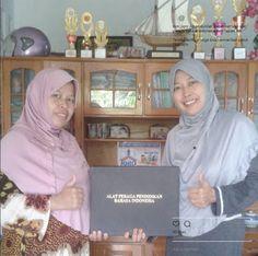 TBM Iqro: Hore... Dapat Sumbangan Alat Peraga Bahasa Indones...