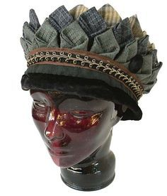 Prairie Point hat by Rayela Art.