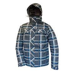 Campera Northland Snowboard Grey Check http://deporcamping.com/ver/campera-hombre-northland-freeski-printed/