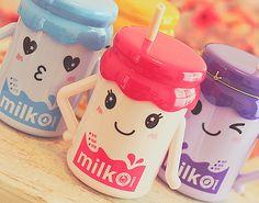kawaii milk