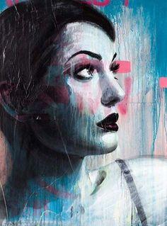 Street Artists around the World - Australian artist Rone