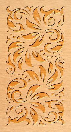 36 ideas for curve divider wall ideas Laser Cut Stencils, Stencil Templates, Stencil Patterns, Stencil Art, Stencil Designs, Wood Panel Walls, Panel Wall Art, Cricut, Cnc Plasma