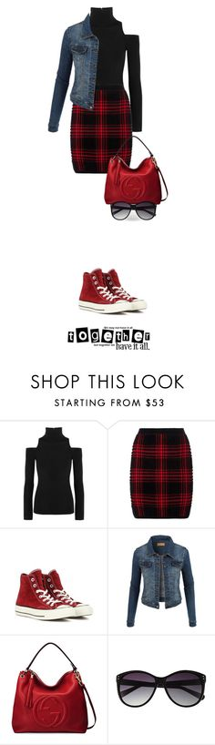 """""""Nov 13th (tfp)"""" by boxthoughts ❤ liked on Polyvore featuring Donna Karan, Alexander Wang, Converse, LE3NO, Gucci, Vince Camuto and tfp"""