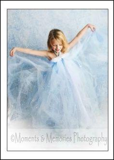 Snowflake Tutu Dress Frozen Tutu Photo Prop for Pictures Holidays Winter Wonderland on Etsy, $40.00