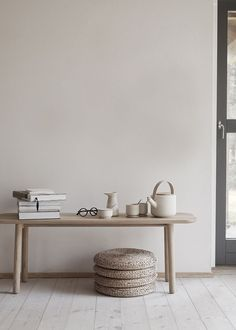 New interior launches to know about this September – from neutral paints, improved classics and considered design to minimalist lighting and plant pots made from old tea waste Minimalist Furniture, Minimalist Room, Minimalist Interior, Modern Interior, Interior Styling, Interior Decorating, Interior Design, Minimalist Apartment, Scandinavian Interior