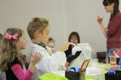 Boo Bubble, bubbles you can bounce filled with smoke.. a HUGE hit at my son's mad scientist birthday party