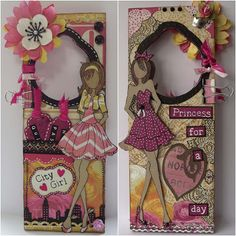 prima mixed media dolls | Feel: Prima Doll Hangdoor - Colgador de puerta para chicas