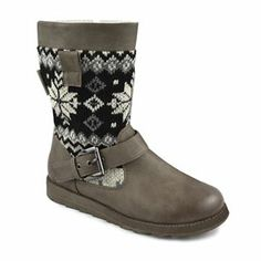 MUK LUKS Rae Midcalf Sweater Boots - Women