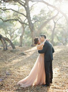 California Light Jen Huang Photography Pronovias Wedding Gown Camellia Floral Design Chiali Meng Artistry Davia Lee Events Oak Grove Wedding in Santa Barbara