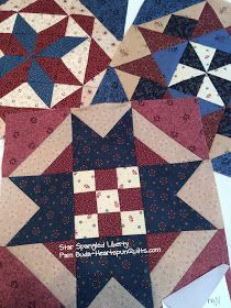 Heartspun Quilts ~ Pam Buda: Star Spangled Sewing