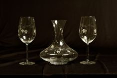 DECANTADOR+2COPAS – Artesanía de la Región de Murcia Murcia, Wine Decanter, Flute, Barware, Champagne, Crystals, Tableware, Breakfast Nook, Craft Fairs