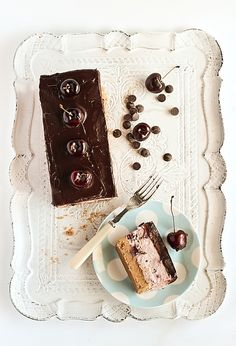 Chocolate Chip Cherry Cheesecake by raspberri cupcakes, via Flickr