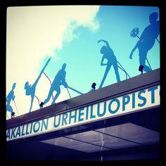Kisakallio Sports Institute in Lohja. Photo by Helena Kontio #lohja #visitlohja