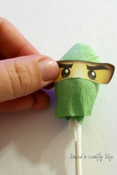 Lauras Crafty Life: Ninjago Lollipops and Printable Ninjago Eyes