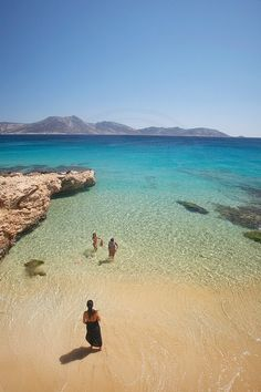 Koufonisia Islands in Cyclades, Greece