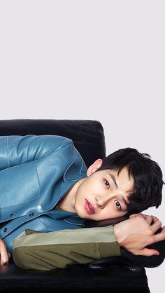 Lock Screens Song Joong Ki for Harper's BAZAAR China