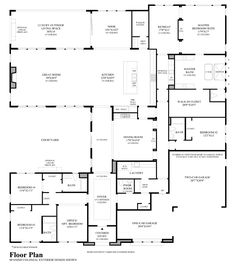 Perfect home (layout plan) for my parents to live with us. House Layout Plans, Floor Plan Layout, House Layouts, Best House Plans, Dream House Plans, House Floor Plans, Warehouse Plan, Warehouse Living, The Plan