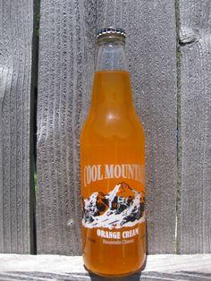 Cool Mountain Orange from Homer Soda