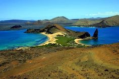 Everything about Bartolome Island (Galapagos) is fairly off the beaten path.  And hard to beat the beauty.  #virtualtourist