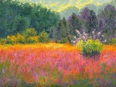 Iridescent Prairie by Nancy Gregg Oil ~ 9 x 12