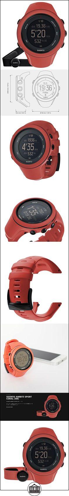 Suunto Ambit3 Sport HR - Reloj de entrenamiento GPS para mujer, color amarillo, talla M  ✿ Relojes para mujer - (Gama media/alta) ✿