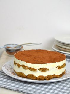 Tarta de tiramisú fácil Hallumi Recipes, Baking Recipes, Sweet Recipes, Dessert Recipes, Hotdish Recipes, Lasagna Recipes, Spinach Recipes, Sandwich Recipes, Shrimp Recipes