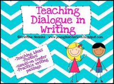 Writing Dialogue Part 2