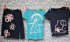 This is SUCH a perfect project for little ones and they can wear it too! Thank you Lilla a.