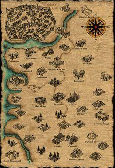 Mike's RPG Center - Baldur's Gate - Maps