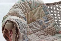Der Rabe im Schlamm: Mein Tilda-Patchworkquilt
