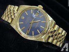 Rolex 14k Yellow Gold Date President Watch Quickset